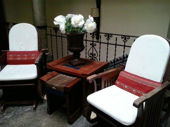 Hotel Zaguan del Darro : Detalle de la recepción