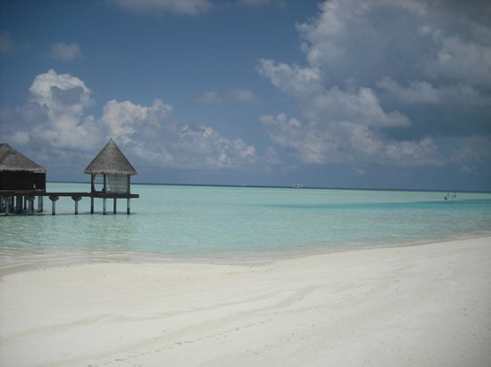 Anantara Dhigu MaldivesResort: 水上のスパ