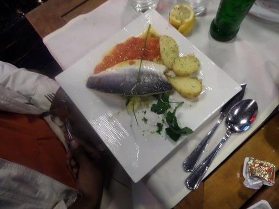 Rugbyman N° Two: Fish filet w/potatoes