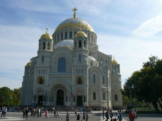 The Naval Cathedral of Saint Nicholas in Kronstadt : Собор