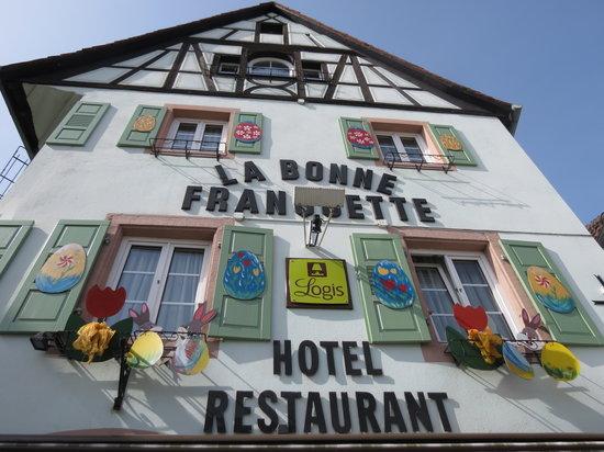 Hotel La Bonne Franquette : Pâques
