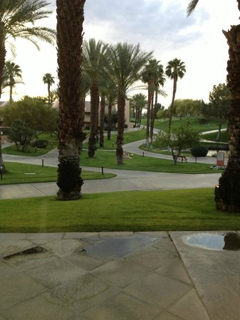 Westin Mission Hills Golf Resort & Spa: view from the gym