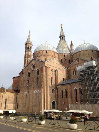 Basilica di Sant'Antonio - Basilica del Santo: вид на Базилику