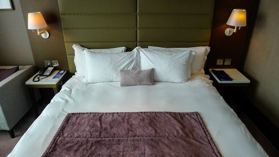 Radisson Blu Royal Hotel, Dublin: We loved the bed, very comfortable