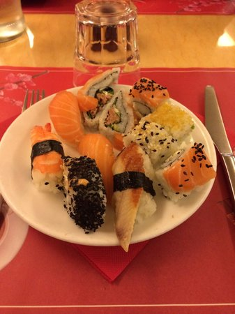 Happy Wok : 'Sushi' plastificato