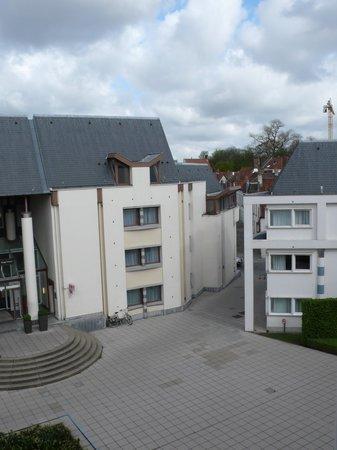 Novotel Brugge Centrum: View from window