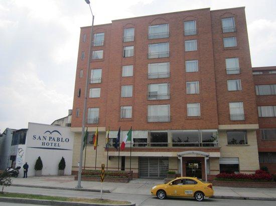 San Pablo Hotel: Fachada