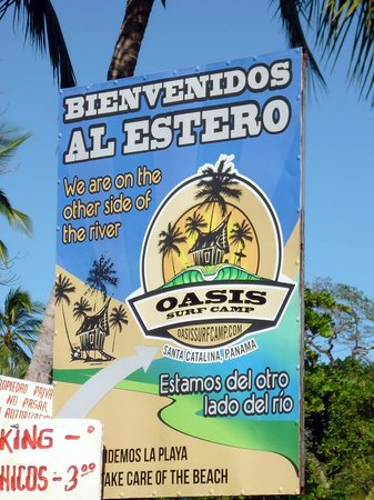Oasis Surf Camp: l'entrata