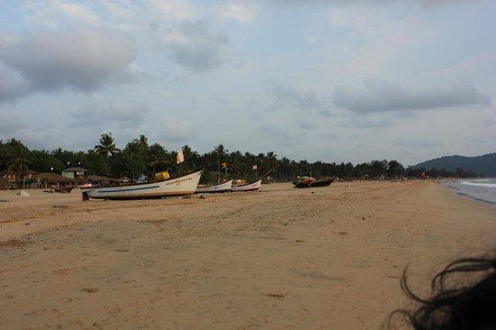 Agonda Beach: the beach photo