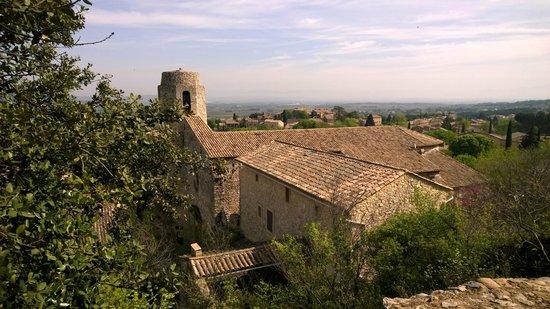 Vue du village de Saint-Victor-La-Coste