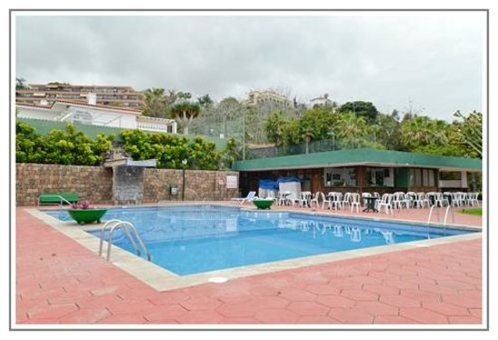 Hotel DC Xibana Park: vista Teide Piscina