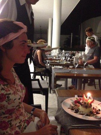 Hilton Puerto Vallarta Resort : Birthday celebration at French Restaurant