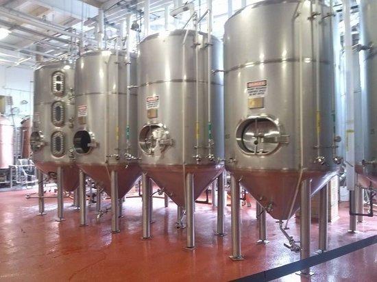 Samuel Adams Brewery : tanks