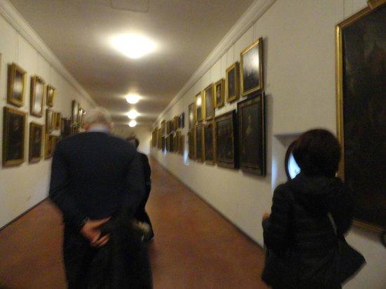 """Corridoio Vasariano : uno scatto """"rubato"""" sul Ponte Vecchio"""