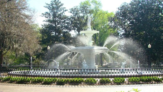 Parc Forsyth : Forsyth Park in Savannah, Georgia