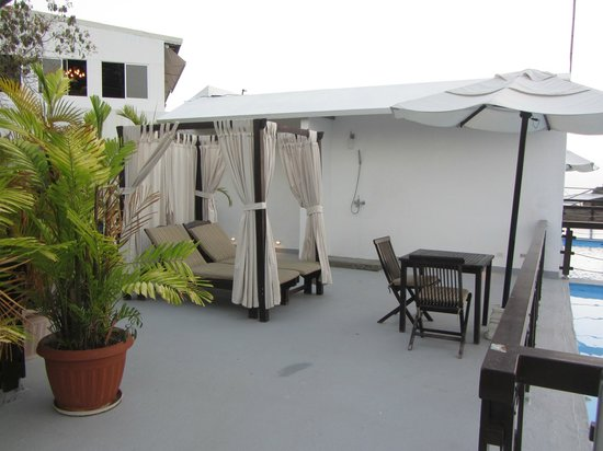 Gaia Hotel & Reserve: Amazing roof top terrace