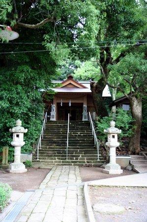 One-legged Torii: 山王神社です