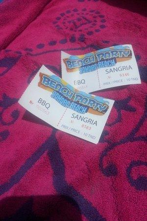 Sahara Beach Aquapark Resort: Sahara beach party!