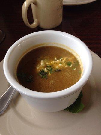 Payne's: Try the sweet potato apple ginger soup!