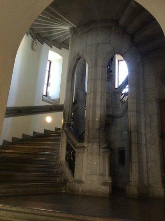 Porte de Hal : Spiral staircases