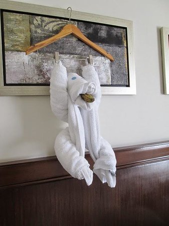 Hilton Luxor Resort & Spa : fantastic towel animals made each day
