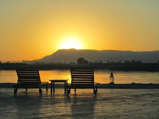 Hilton Luxor Resort & Spa : Sunset