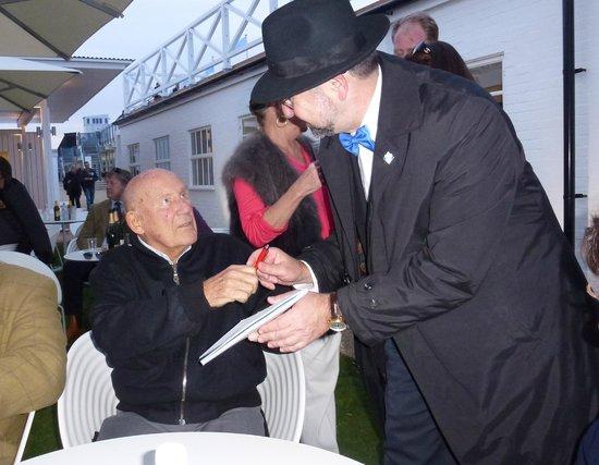 Goodwood Motor Circuit: Sir Stirling Moss
