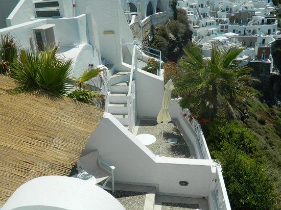 Zenith Blue: View of balconies