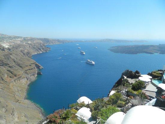 Zenith Blue: View of caldera