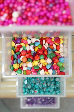 RockShop: Choose your favourite beads and make your own bracelet in Pippins Bead Bar!