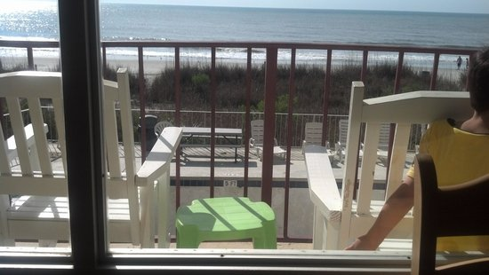 Gazebo Inn Ocean Front: balcony view