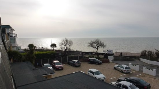 BEST WESTERN Beachcroft Hotel: sea view from our room