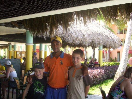 Casa Marina Beach Resort : Gabriel, Vlady et Cédrick