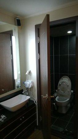 Amourex Hotel : toilet