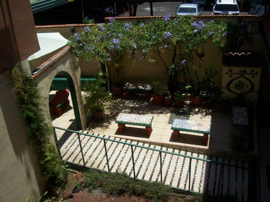 Intercultura Language School and Cultural Center: View from the 2nd floor