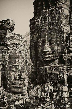 Bayon (Angkor) : Bayon temple Angkor Thom, Siem Reap