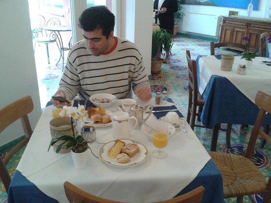 Hotel Savoia : desayuno