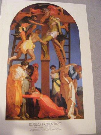 Pinacoteca e Museo Civico: descente de croix