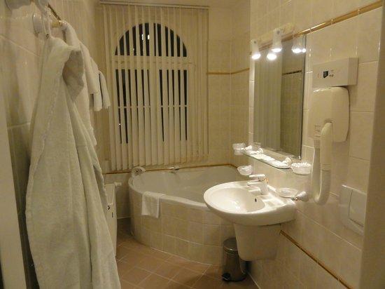 Spa Hotel Vltava: Ванная комната