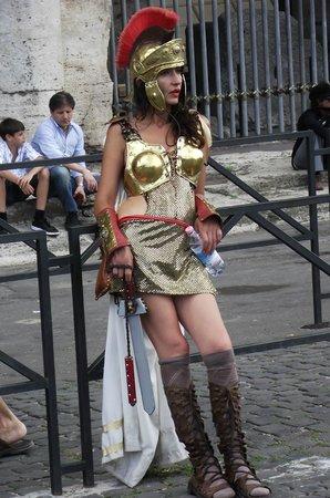 Ancient Rome: Roma, ... Gladiadora Romana