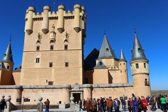 Alcazar de Segovia: Turrets