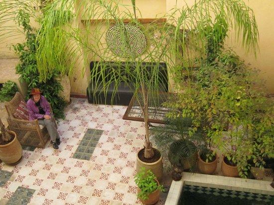 Dar Finn : Interior garden