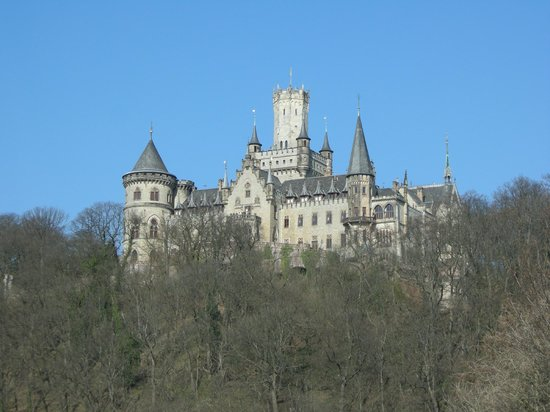 Cappuccino: Marienburg Castle, retreat of the last King of Hannover and his Queen
