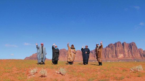Mohammad Mutlak Camp: Auf Wiedersehn Wadi Rum!