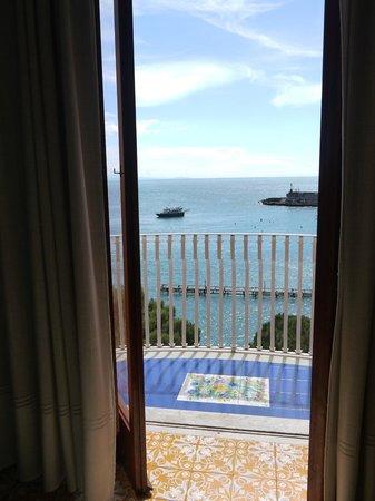 Hotel la Bussola: 部屋からの景色