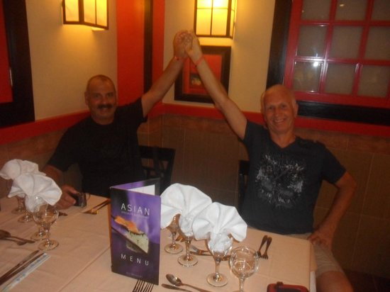 Hotel Riu Playacar: restaurante asiatico
