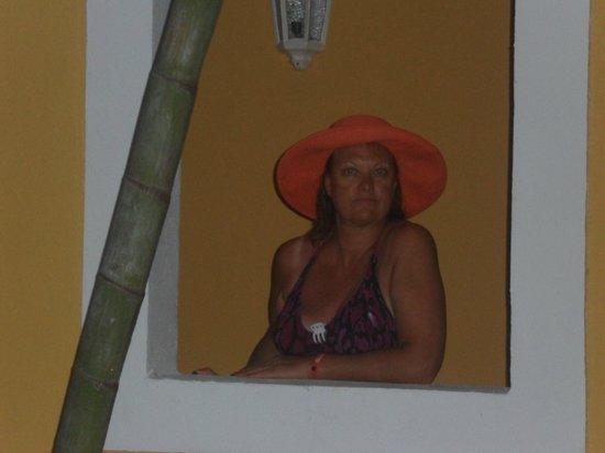 Hotel Riu Playacar : arcada de la habitacion