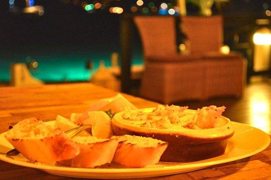 Saba Rock Resort: Lobster bites