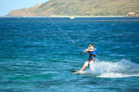 Saba Rock Resort: Kiteboarding at Saba Rock