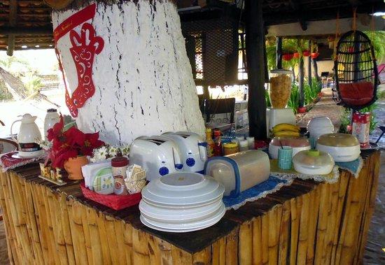 Dim's Hostal : il buffet delle colazioni